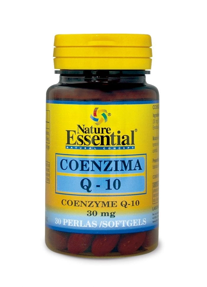 NE2024 CO-ENZYMA Q-10 (30 MG.) 30 PERLAS ok
